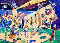 Artisti-di-strada-venezia-campo-dei-frari