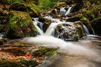 Kleiner Wasserfall im Harz von hpengler