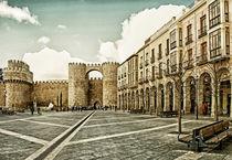 Landscape-of-castle-of-avila