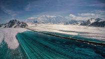 Melt-water-lake-on-logan-glacier-wrangell-st-elias-national-park