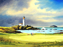 Turnberry Golf Course Scotland 10th Green von bill holkham