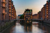 Speicherstadt Hamburg Fleetschlösschen by Klaus Tetzner