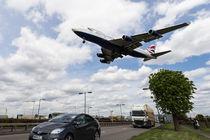 British Airways Boeing 747 London Heathrow by David Pyatt