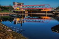 Duisburger Hafenkanal von augenblicke