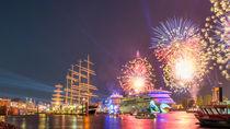 AIDA Feuerwerk zum 827. Hamburger Hafengeburtstag by Steffen Klemz