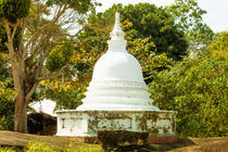 Ein buddhistischer Tempel in Unawattuna von Gina Koch