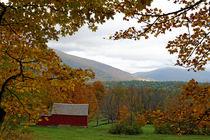 Vermont im Herbst von Borg Enders