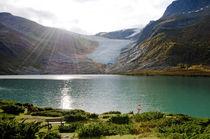Svartisen Gletscher von Borg Enders