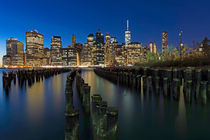 Manhattan Skyline von Borg Enders