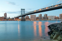 Manhattan Bridge von Borg Enders