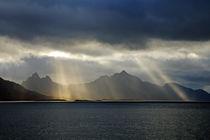 Norwegische Küste von Borg Enders