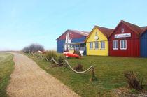 Bunte Häuser - Seezeichenhafen Wittdün by AD DESIGN Photo + PhotoArt