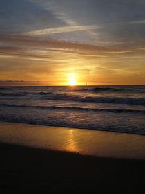 Sonnenuntergang auf Sylt von Borg Enders