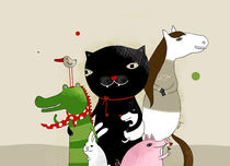 United Animals von Kristina  Sabaite