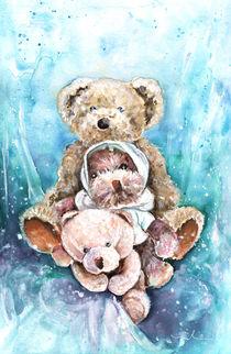 Group Portrait With Auntie Nelle Teddy Bears by Miki de Goodaboom