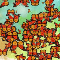 Monarch butterflies von Gaspar Avila