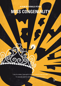 No652-my-miss-congeniality-minimal-movie-poster