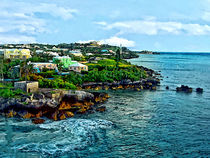 St. George Bermuda Shoreline by Susan Savad