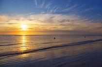 Sonnenuntergang am Meer von AD DESIGN Photo + PhotoArt