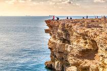 Wildromantische Küste am Atlantik in Afrika in der Nähe von El Jadida in Marokko von Gina Koch