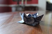 Origami Lotus by Kathryn Brode