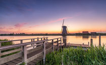 Windmühle Kinderdjik Holland Niederlande by Dennis Stracke