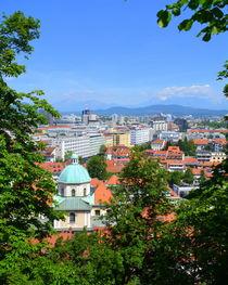 Blick auf Ljubljana by gugigei