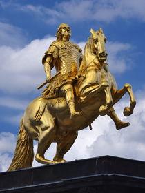 Goldener Reiter Dresden by dresdner
