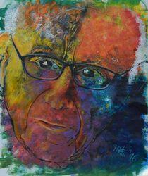 Portrait Fritz Stern  von Matthias Kronz