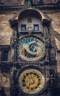 Prague Astronomical Clock by Tomas Gregor