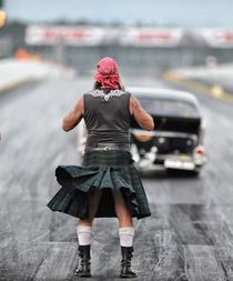 Dragstrip Kilt by Uwe Koch