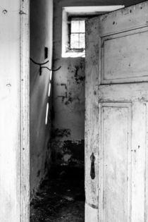 'Sneak A Peek Inside III. in b&w' by Thomas Matzl