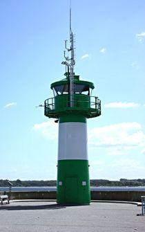 Leuchtturm in Travemünde von Martina Lender-Frase