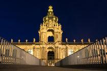 Blick auf den Zwinger in Dresden von Rico Ködder