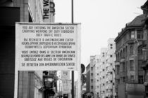 berlin, checkpoint charlie by amonkeywithcamera