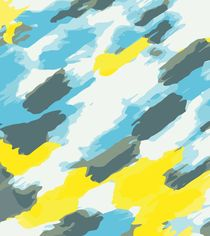 blue grey and yellow painting abstract background von timla