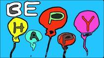 Be happy with balloons von timla