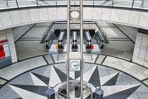 'U-Bahn Station Westfalendamm' von Bernhard Kaiser