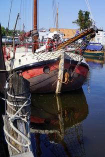 Im Museumshafen Greifswald von Sabine Radtke