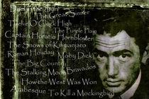 Legenden - Gregory Peck by Chris Berger