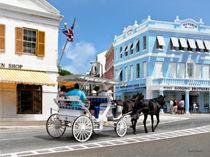 Hamilton Bermuda Carriage Ride by Susan Savad