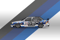 Volvo 850 Saloon TWR BTCC Racing Super Touring Car (1995) von monkeycrisisonmars