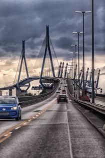 Köhlbrandbrücke von Annett Mirsberger