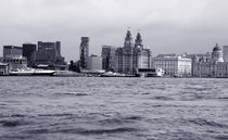 Liverpool Skyline by Harvey Hudson