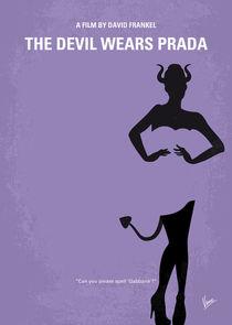 No661 My The Devil Wears Prada minimal movie poster von chungkong