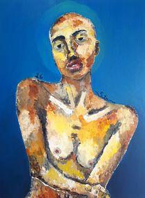 Pele. Influência sobre azul. von Stainner Rylle