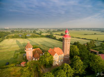 Dahme Leuchtturm Luftaufnahme Ostsee von Dennis Stracke