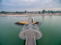 Kellenhusen Ostsee Seebrücke Luftaufnahme by Dennis Stracke