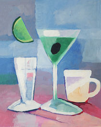 Martini still life by Arte Costa Blanca
