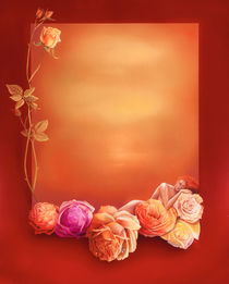 Auf Rosen gebettet by Annelie Dachsel-Widmann